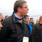 Vučić: Ako kiša nastavi da pada, vanredna situacija u celoj zemlji