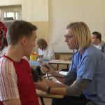 Akcija doborovoljnog davanja krvi u čačanskim srednjim školama