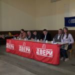 Izbori 2016: Tribina Dveri u Trbušanima