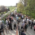 Meštani Ljubić keja o protestu