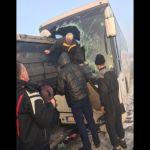 Saobraćajna nesreća na Ibarskoj magistrali – sudar autobusa i kamiona