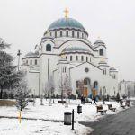 Prvi deo mozaika u kupoli hrama Svetog Save biće završen u aprilu