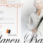 Svetski poznat klarinetista Slaven Balaća nastupa sutra u Milanovcu