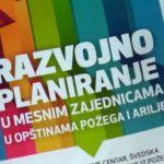 16 mesnih zajednica u opštini Požega pokrveno strateškim planovima