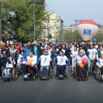 """Tokom maratona održana akcija """"Ravnopravno do cilja"""""""