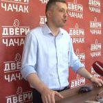 Dveri: Četiri pitanja za gradonačelnika Čačka