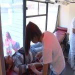 Transfuziomobil u Čačku – prikupljena krv za transplataciju srca u Beogradu