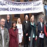 U Čačku zbog protesta ispred Vlade štrajkovale sve škole izuzev OŠ Preljina i Filip Filipović