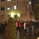 """Oko 300 radnika JP ,,Pošta Srbije"""" ptotestovalo ispred sedišta firme u Čačku"""