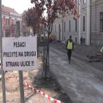 Počela rekonstrukcija prostora ispred zgrade Gradske uprave
