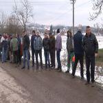 Meštani Bresnice održali protest zbog problema vodosnabdevanja