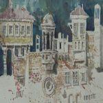 """Otvorena izložba ,,Kule i gradine"""" u likovnom salonu Doma kulture u Čačku"""