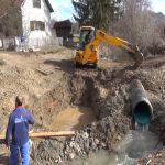 Počela izgradnja mosta na Dobrinjskoj reci kod Požege