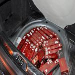 Kraljevačka policija zaplenila pet hiljada paklica cigareta