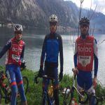 Seniori Biciklističkog kluba Borac u Šušnju na pripremama