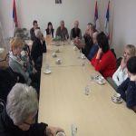Predsednik opštine Požega primio majke i supruge poginulih boraca