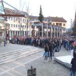 Požežani opet na protestu protiv lokalne vlasti