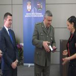 Dodeljene značke vojnim dobrovoljcima u Milanovcu