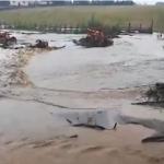 Poplava u Leušićima kod Milanovca