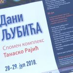 Dani Ljubića biće održani 28. i 29. jula kod Memorijalnog kompleksa Tanasko Rajić