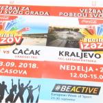 Sportski izazov u nedelju: Borba Čačka i Kraljeva