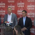 Đilas, Lutovac, Stamatović i Obradović sutra u Čačku o izborima u Lučanima