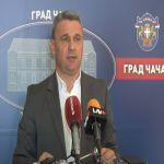 Gradonačelnik Čačka traži od Zavoda za javno zdravlje da pojačano kontroliše zagađenje Morave