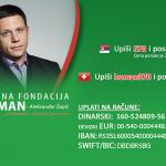 Humanitarna akcija za lecenje urednika N1, Peđe Obradovića