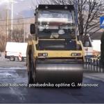 Počelo asfaltiranje Železničke ulice u Milanovcu