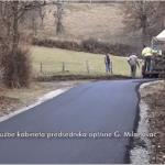 U toku asfaltiranje 800 metara puta u milanovačkom zaseoku Berzovica