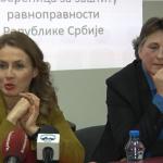 Poverenica Brankica Janković i potpukovnica Svetlana Janković govorile u Čačku na temu rodne ravnopravnosti u Srbiji