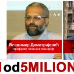"Protest ""1 od 5 miliona"" sutra u Čačku, govore Vladimir Dimitrijević i Srđan Škoro"