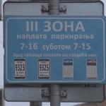"""Gradonačelnik zatražio pismeni izveštaj od direktora JKP """"Parking servis"""" o ukidanju naplate parkinga putem SMS poruke"""