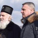 Patrijarh i Todorović obišli mesto buduće crkve u Vidovi