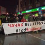 Profesor Matijević sa protesta u Čačku: ZLO JE POBEDILO ONDA KADA DOBRI LJUDI NISU URADILI NIŠTA