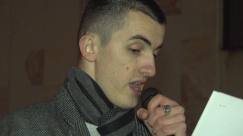 Prozivao novinare RTS-a u Čačku: Radiša Ćeriman, jedan od organizatora protesta