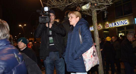 Dopisništvo RTS-a na licu mesta/Foto: Epicentar press