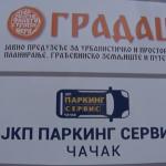 """Sedište JKP ,,Parking servis"""" Čačak premešteno u ulicu Cara Lazara 51, u prizemlje zgrade ,,Gradca"""""""