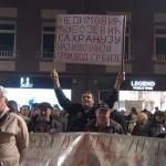 """Održan sedmi protest građana ,,1 od 5 miliona"""" u Čačku"""