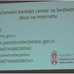"""Predavanje ,,Bezbednost dece na internetu"""" održano u OŠ ,,Dr Dragiša Mišović"""" u Čačku"""
