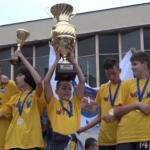 Gradonačelnik Čačka ugostio mlađe pionire Mladosti koji su osvojili turnir u Sloveniji