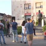 """Nekoliko desetina građana na protestu ,,1 od 5 miliona"""" u Čačku"""