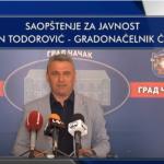 Todorović: Povući ću se sa funkcije kada opozicija bude imala dovoljan broj glasova